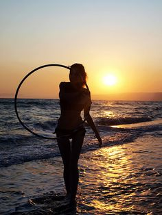 hooping at the beach is wonderful