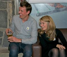 Co-founders and husband and wife team, John and Leah at the Dragons' Den viewing party. Dragons Den, Co Founder, Husband, Couple Photos, Couples, Children, Party, Couple Shots, Young Children