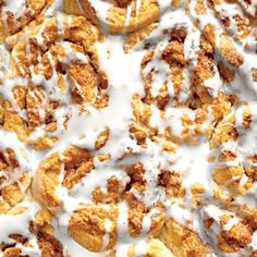 Recipes from the September Issue of Southern Living:  Creamy Glaze for Cinnamon Rolls