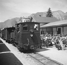 Salzkammergut Lokalbahn 1930