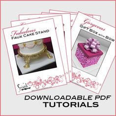 Fondant on Pinterest Marshmallow Fondant, Fondant Tips ...