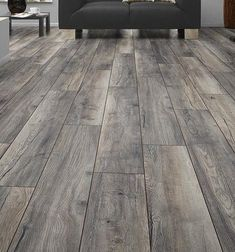"Locking 6 ""x x Eiche Luxus Vinyl Plank Hardwood Floor Colors, Grey Wood Floors, Wood Tile Floors, Grey Flooring, Bedroom Flooring, Flooring Ideas, Grey Laminate Wood Flooring, Vinal Plank Flooring, Plywood Floors"