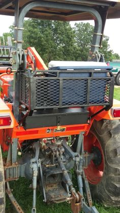 Kubota Compact Tractor, Compact Tractors, Custom Metal Fabrication, Welding And Fabrication, Custom Truck Beds, Custom Trucks, Compact Tractor Attachments, Cattle Barn, Tractor Accessories