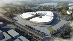 This Agricultural Expo Center in China is Not Only Inspired by Sesame Seeds But It is Shaped Like One