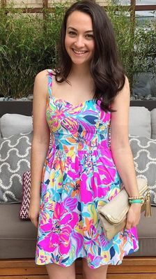 Lilly Pulitzer Christine Sundress in Besame Mucho styled by @collegeprepster