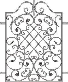 Wrought Iron Decor, Wrought Iron Gates, Iron Windows, Iron Doors, Metal Drawing, Grill Door Design, Metal Bending, Metal Gates, Iron Furniture