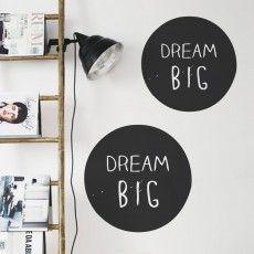 Adesivo de Parede Dream Big www.grudado.com.br