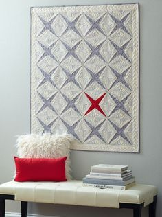Exclamation Point quilt by Wendy Sheppard.