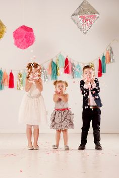 Ashlee Raubach Photography: A CONFETTI PARTY: KANDELL FAMILY STUDIO SESSION