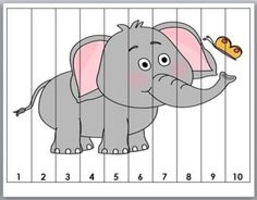 Zoo Math Number Puzzles for Kids by Marcia Murphy Counting Puzzles, Number Puzzles, Maths Puzzles, Puzzles For Kids, Preschool Learning Activities, Toddler Activities, Preschool Activities, Numbers Preschool, Math Numbers