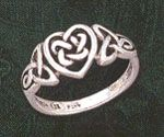 I don't really wear jewlery but I think this is really pretty - Celtic Rings