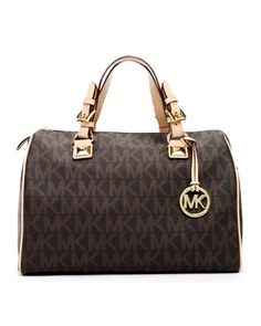 MICHAEL Michael Kors  Grayson Large Logo Satchel. This might just be my next purse!