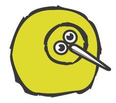 SocialKiwi Bird Kiwi Bird, Bird Artwork