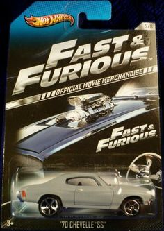 2013 Hot Wheels Fast & Furious Limited Edition - '70 Chevelle SS [5/8]