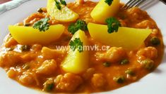 Chana Masala, Risotto, Curry, Pork, Food And Drink, Ethnic Recipes, Sweet, Fitness, Red Peppers