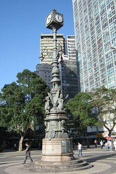 Relógio do Largo da Carioca, Centro Rio de Janeiro / Brasil