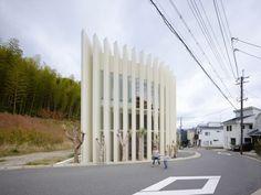 House in Muko by Fujiwarramuro Architects, Muko, Kyoto, Japan.