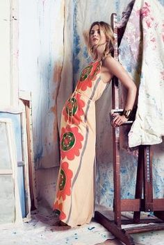 Anupamaa Mira Costa Maxi Dress #anthrofave #anthropologie #sale