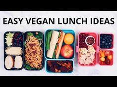 VEGAN SCHOOL LUNCH IDEAS PART 2 (wraps, noodles, spring rolls) - YouTube