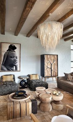 home decor 6 Jaw-Dropping Safari Lodges Thatll Completely Rewrite Your Bucket List Teach Your African Interior Design, Home Interior Design, Interior Decorating, African Design, Safari Living Rooms, Living Room Decor, Safari Room, Decor Room, African Home Decor