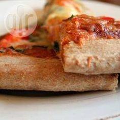 Wholemeal pizza base @ allrecipes.co.uk