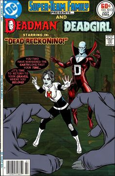 Super-Team Family: The Lost Issues!: Deadman and Dead Girl