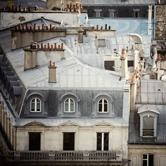 Paris roofs...always stunning