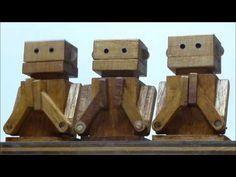 伽楽理(カラクリ玩具工房)at 季の雲 - YouTube