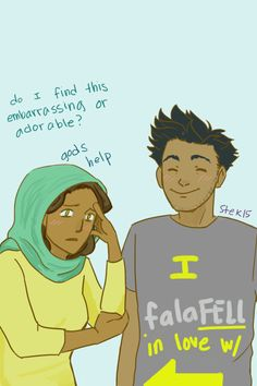 sam & amir <<<< This is the first fan art I've seen with Amir in it and I am so happy!!!