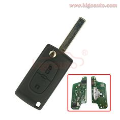 3 Remote Head Key Keyless Replacement Case Buttons Shell Housing For HYQ12BDM