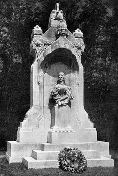 Erzsébet királyné szobrának átadási ünnepsége Szegeden 1907. szeptember 29-én, 1900-as évek, képeslap, Országos Széchényi Könyvtár Aprónyomtatványtár.