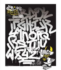 29 Amazing Graffiti Alphabet Letters by Graffiti Artists