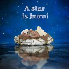 geboortekaartjes, geboortekaart, geboortekaartjes met foto, geboortefoto A Star Is Born, Stars, Photo Ideas, Baby, Movies, Movie Posters, Painting, Shots Ideas, Films