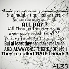 That's what i call true friends!