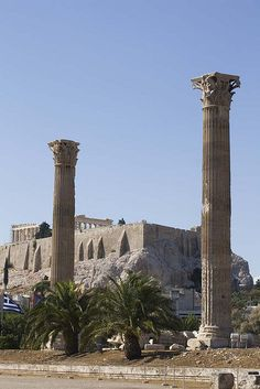 The Temple of Zeus - Athens, Greece
