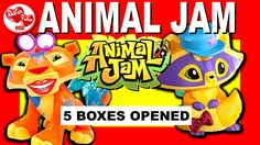 Animal Jam Toy Haul - Kid Safe YouTube video. New Animal Jam Toy Haul as Akirah opens and unboxes Animal Jam toys and Animal Jam figures to entertain your child.