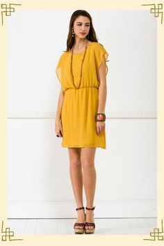 love this sunny & aptly named big easy dress from francesca's.