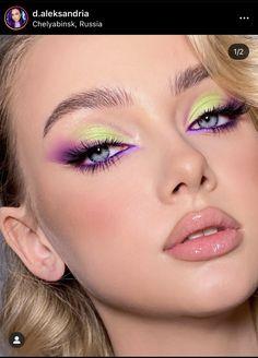 Edgy Makeup, Makeup Eye Looks, Eye Makeup Art, Makeup Goals, Skin Makeup, Eyeshadow Makeup, Makeup Inspo, Makeup Inspiration, Eye Makeup Designs