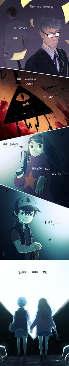 Anime Art Sad Gravity Falls Ideas For 2019 Anime Gravity Falls, Gravity Falls Fan Art, Reverse Gravity Falls, Gravity Falls Comics, Reverse Falls, Bill Cipher, Dipper Y Mabel, Mabel Pines, Dipper Pines