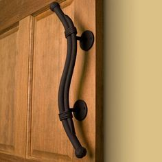 Heavy Duty Hand-Forged Iron Bound Pull - Hardware