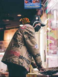 —Thrasher x Supreme — •follow @devilindoor on instagram•