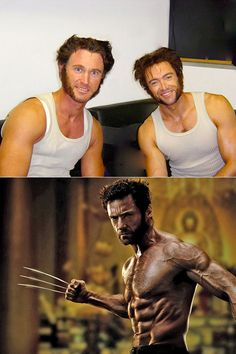 Hugh Jackman's Wolverine Stunt Double and 10 More Famous Celebrity Stunt Doubles Marvel Actors, Marvel Heroes, Marvel Movies, Hulk Vs Superman, Deadpool Wolverine, Action Movie Stars, Action Movies, Hugh Jackman, Music Film