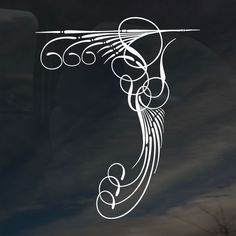Pinstriping 287 Sticker | Pinstriping Stickers | Pinstriping Decals ...