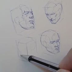 <br> Ferhat Edizkan is a Turkish pencil sketch artist. Ferhat Edizkan is an artist who uses an extraordinary technique in his drawings. Anatomy Sketches, Anatomy Art, Anatomy Drawing, Head Anatomy, Anatomy For Artists, Drawing Heads, Nose Drawing, Pencil Art Drawings, Art Drawings Sketches