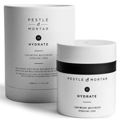 silicone free - Pestle & Mortar Hydrate Moisturiser 50ml | Free Shipping | LOOKFANTASTIC