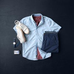 Shirt:Jachs NY //Henley:Jachs NY // Shorts: Jachs NY // Sneakers:Colchester Rubber Co. //Watch:Vaer Adventure //Solid Cologne:Duke Cannon //Socks:Ninja Socks Mens Fashion 2018, Modern Mens Fashion, Men's Fashion, Mens Style Guide, Men Style Tips, Cool Outfits, Casual Outfits, Mens Fashion Magazine, College Outfits