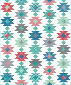 Tahoe Quilt layout - cluckclucksew
