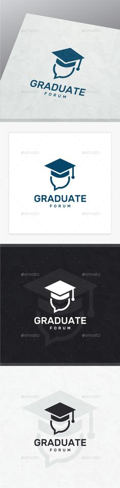 Graduate Logo — Photoshop PSD #graphic #creativity