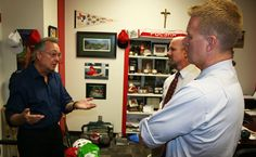 The latest hard knocks between #STH and #SPX  determines the district football championship ... year-long bragging rights ... and resembles the true spirit of Catholic brotherhood.  A diaper drive to benefit Star of Hope.  Great to be teaming with Scott Arthur and a ministry making significant impact in the community.