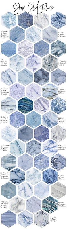 White and bluesy Marble Backgrounds and Styles